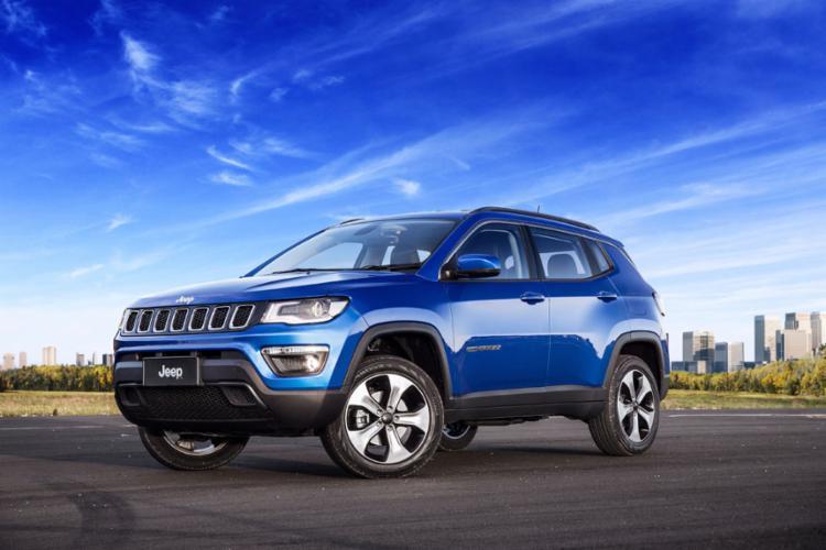 A liderança da marca Jeep no segmento de SUVs impulsionou resultados da FCA no Brasil