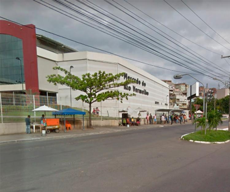 Acidente ocorreu próximo a Ceasinha, sentido Shopping da Bahia - Foto: Reprodução | Google Maps
