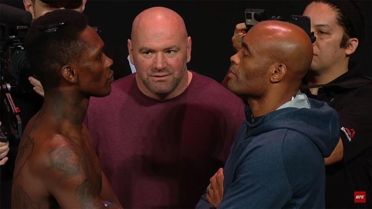 Anderson Silva encara rival conhecido por ser sua 'cópia' - Foto: Reprodução l YouTube l UFC