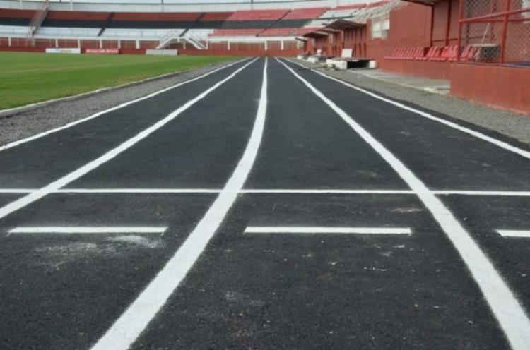 Além de corridas, o estádio vai sediar todo mês, um aulão de crossfit - Foto: Reprodução