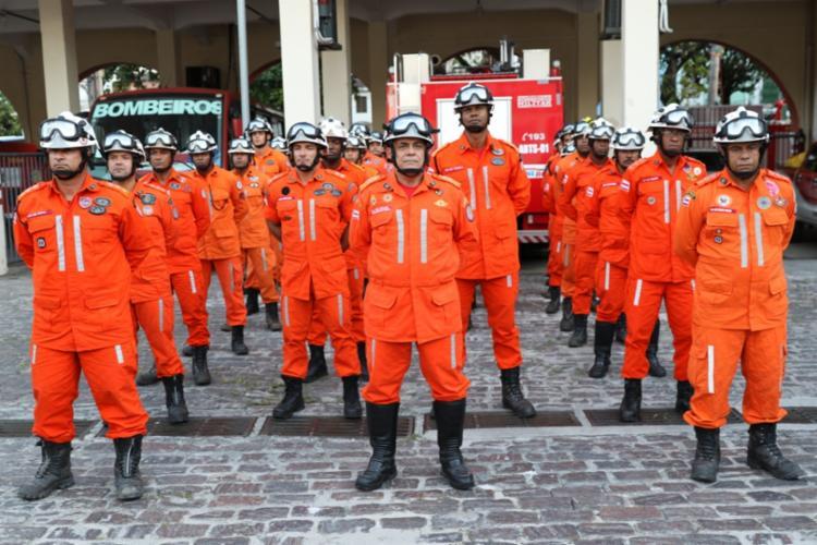 O CBMBA enviou, no último dia 03 de fevereiro, 31 bombeiros especializados - Foto: Divulgação | CBMBA