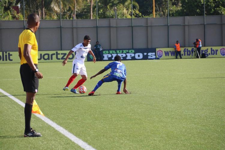 A partida foi disputada na nova Arena Cajueiro, e terminou com o placar de 2 a 2 - Foto: Divulgação l Bahia de Feira