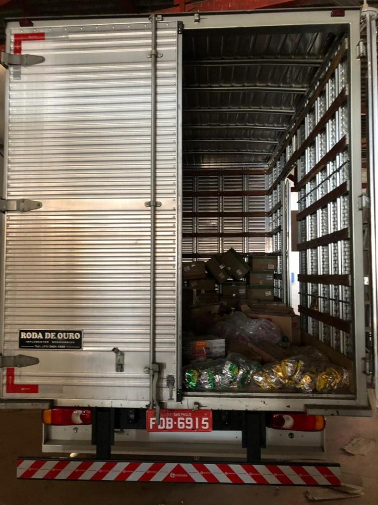 Ao todo foram apreendidas 700 caixas de cigarros - Foto: Divulgação | SSP-BA
