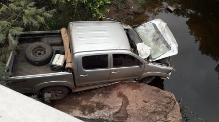 No acidente, Lídia Caíres teria sido arremessada para fora do carro - Foto: Blog Marcos Cangussu   Reprodução