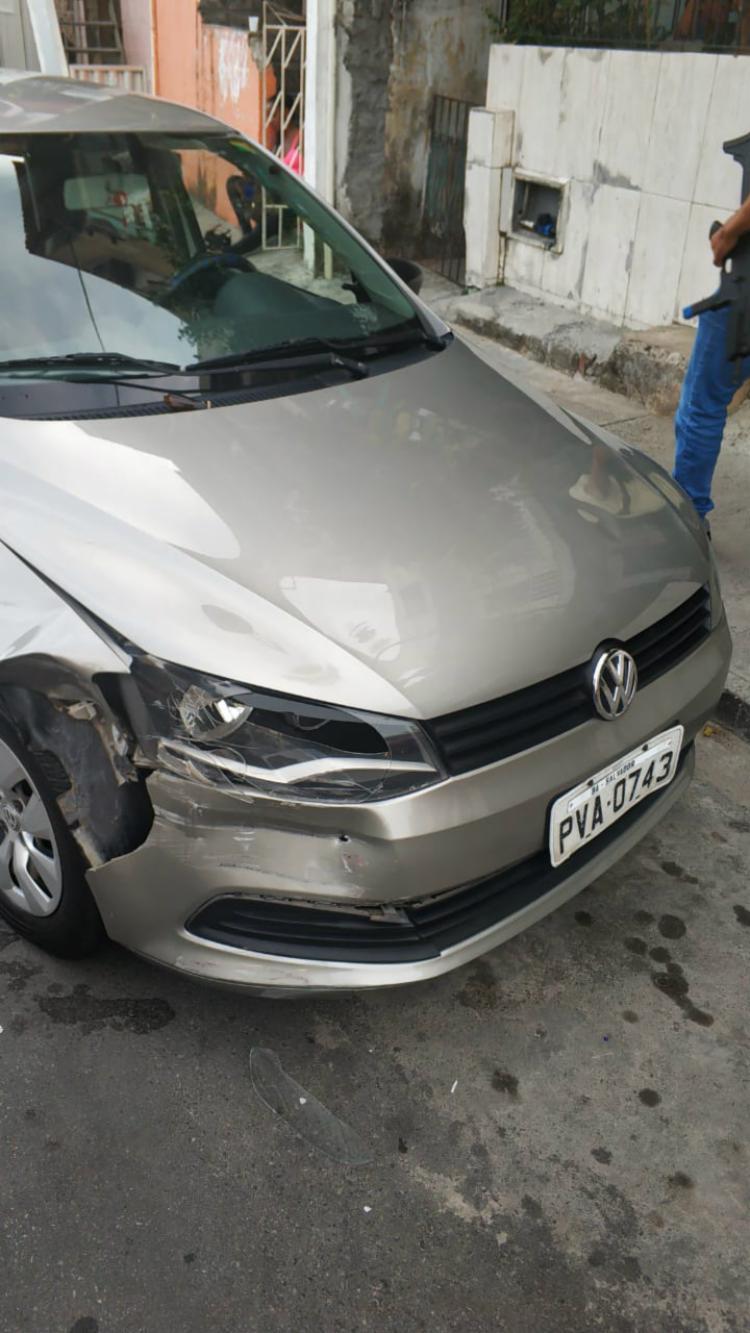 Veículo havia sido roubado na manhã desta quarta na Ribeira - Foto: Divulgação | SSP-BA