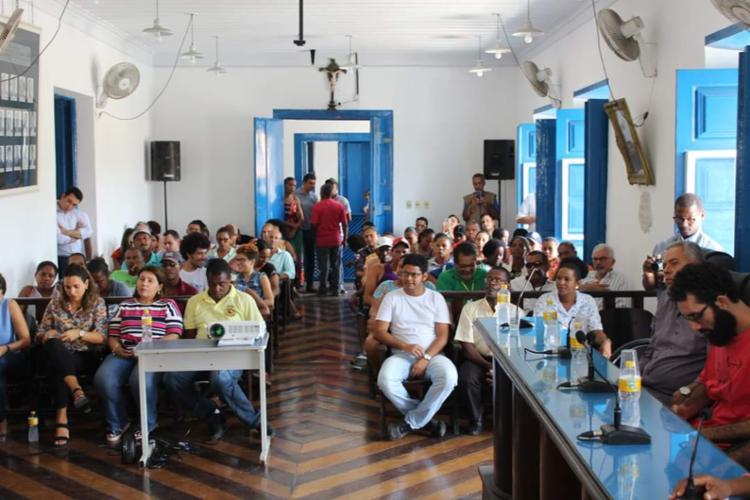 A audiência foi realizada na Câmara Municipal de Cachoeira, nesta terça-feira, 19 - Foto: Divulgação | ASCOM Cachoeira