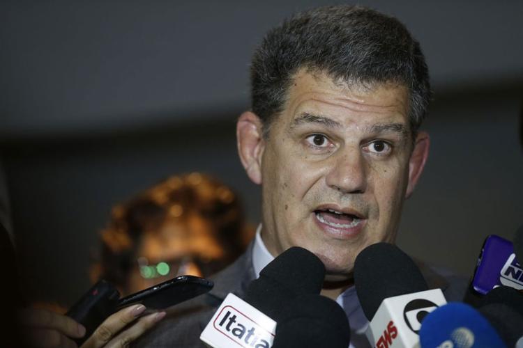 Braço direito de Bolsonaro, Bebianno foi mencionado em suspeitas de irregularidade em campanhas de outros candidatos no PSL - Foto: Fernando Frazão l Agência Brasil