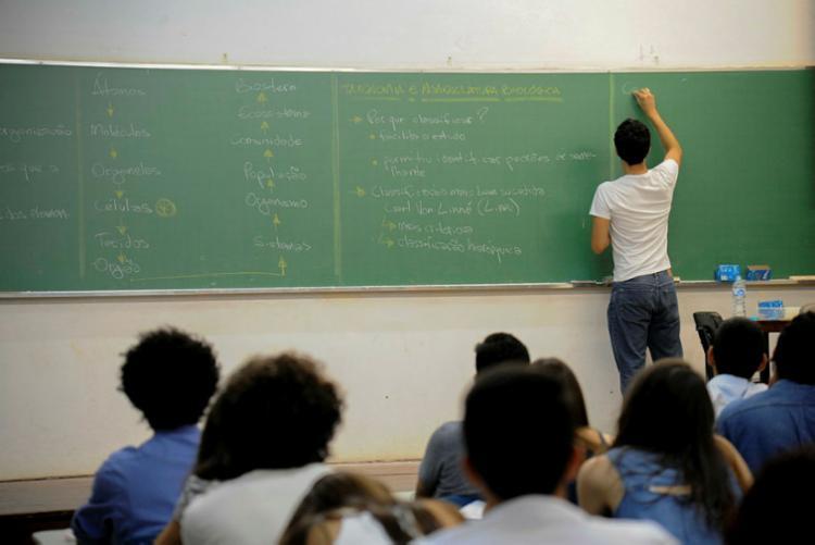 Professores da rede pública podem ter acesso a 66 bolsas de estudos - Foto: Cecília Bastos | USP Imagens