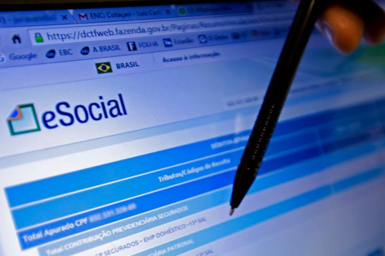 O eSocial está sendo expandido gradualmente para todos os empresários - Foto: Marcelo Camargo   Agência Brasil