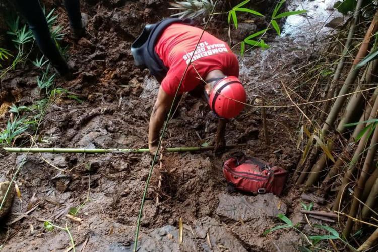 O número oficial de óbitos da tragédia que atingiu Brumadinho permanece 166 - Foto: Divulgação | Corpo de Bombeiros de Minas Gerais