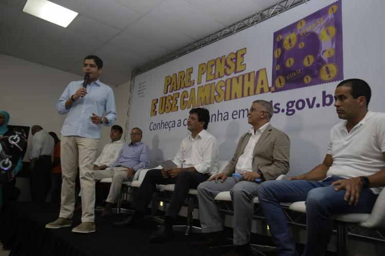 ACM Neto ressaltou os principais cuidados que os foliões devem tomar durante os dias do carnaval - Foto: Joá Souza | Ag. A TARDE