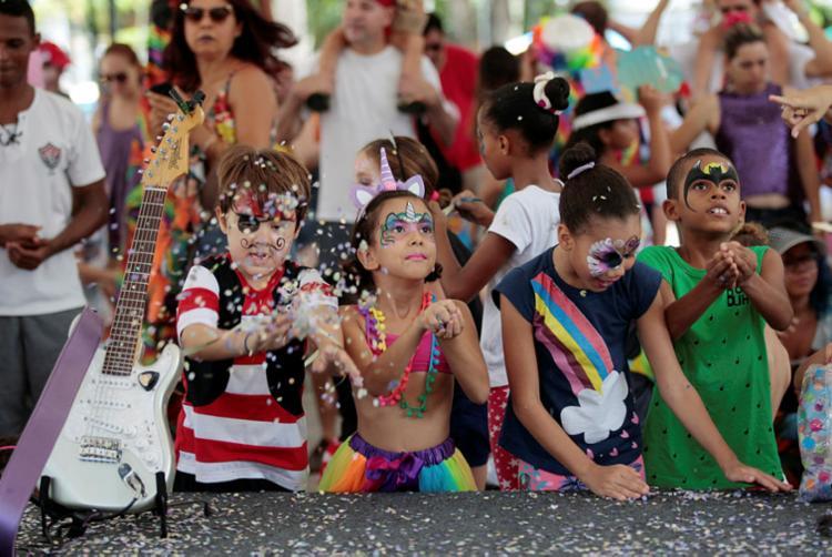 Bailes infantis garantem diversão para a criançada no Carnaval do Pelô de sábado á terça-feira - Foto: Foto: Adilton Venegeroles | Ag. A Tarde