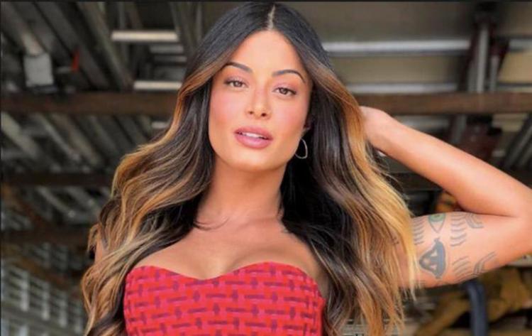 A modelo, atriz, bailarina e garota propaganda da cerveja Itaipava, Aline Riscado, confirmou presença no Camarote - Foto: Divulgação
