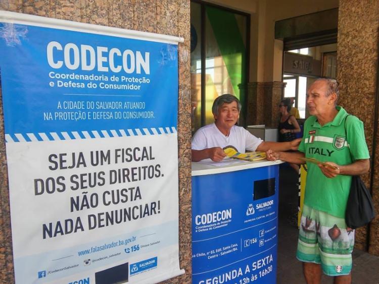 O tradicional Balcão da Codecon atuará na Praça Municipal, próximo ao Elevador Lacerda - Foto: Divulgação   Codecon