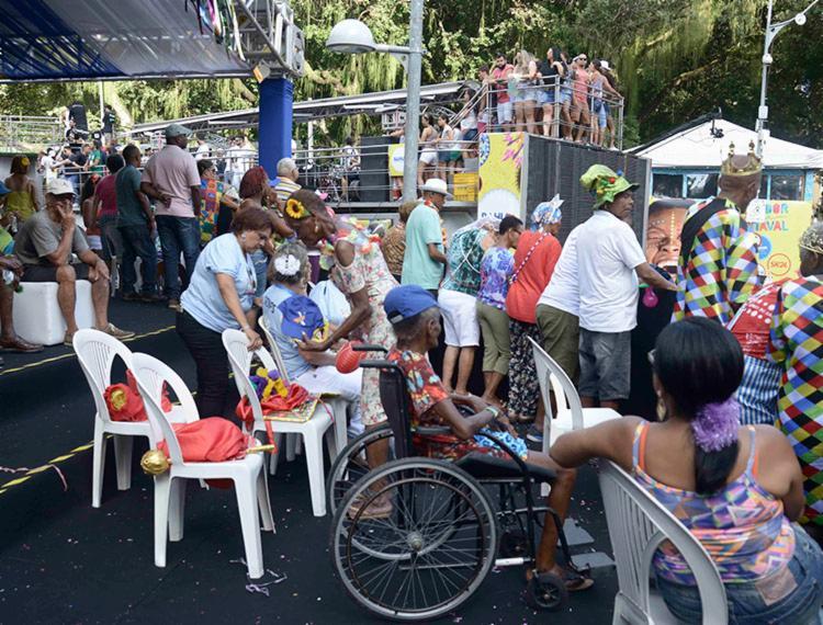 Camarote é exclusivo para pessoas idosas e com deficiência - Foto: Divulgação