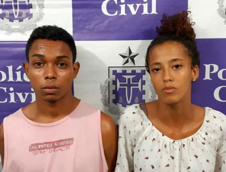 Casal é suspeito de matar osé Uilson Pinheiro de Jesus, no dia 24 de janeiro - Foto: Divulgação | Polícia Civil