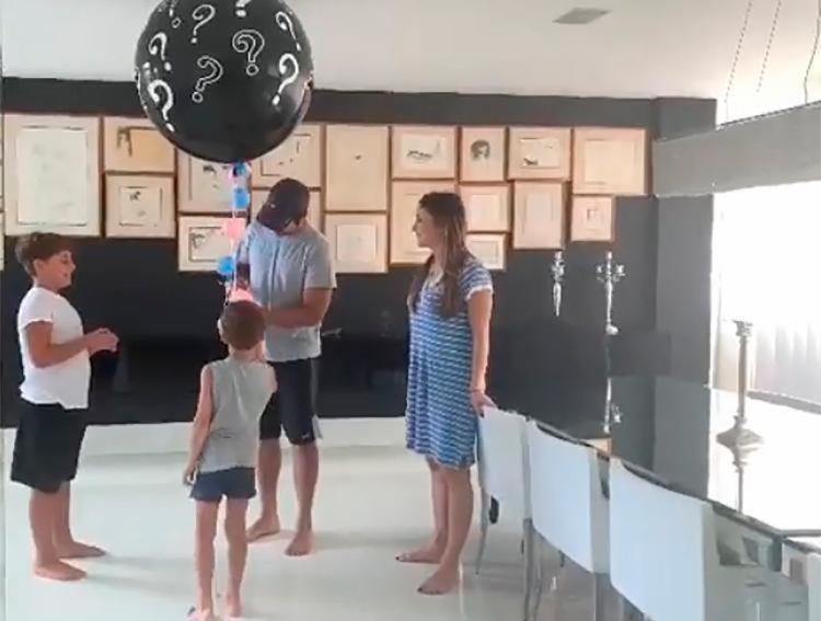 Cantora divulgou vídeo que mostra revelação do sexo do bebê - Foto: Reprodução | Instagram
