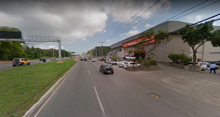 Acidente aconteceu próximo a loja da Papel e Cia - Foto: Reprodução | Google Street View