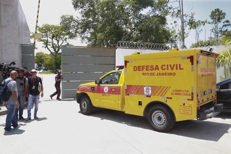 Incêndio no centro de treinamento do Flamengo deixa 10 mortos - Foto: Tomaz Silva l Agência Brasil