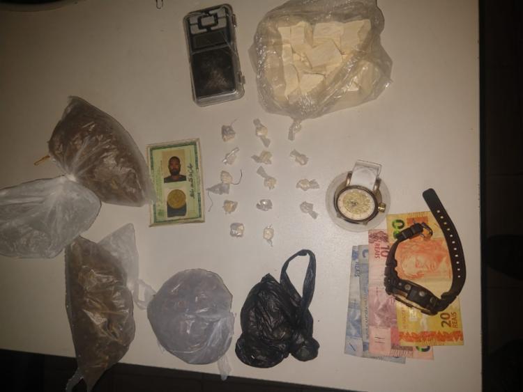 Material foi apreendido com suspeito - Foto: Divulgação | SSP-BA