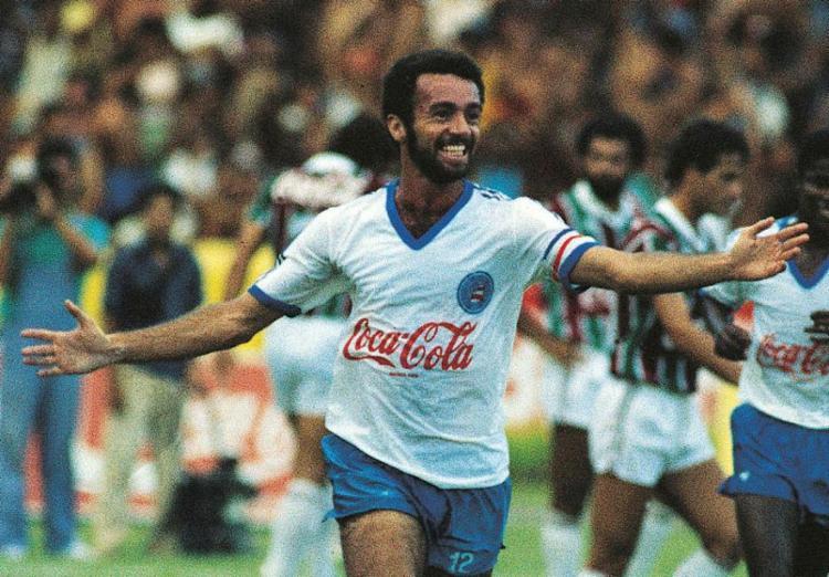 Imagem de Bobô como craque de 1988 está eternizada - Foto: Ari Gomes | Revista Placar