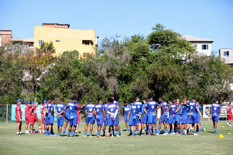 O Tricolor será o único representante do estado na competição - Foto: Felipe Oliveira | Esporte Clube Bahia