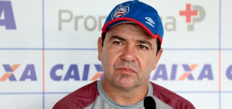 Treinador garante que a equipe viaja com ânimo para conseguir vaga - Foto: Felipe Oliveira | Esporte Clube Bahia