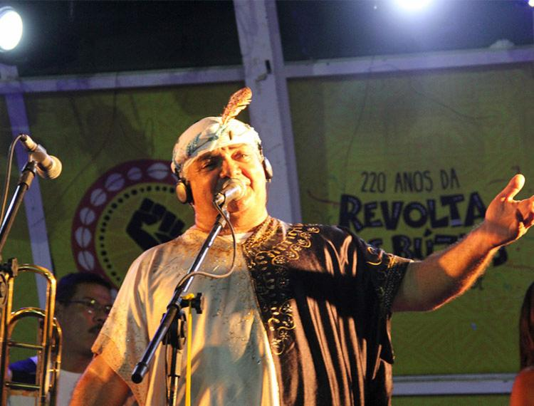 Ensaio de Gerônimo acontece no Largo Pedro Archanjo, às 20h - Foto: Divulgação