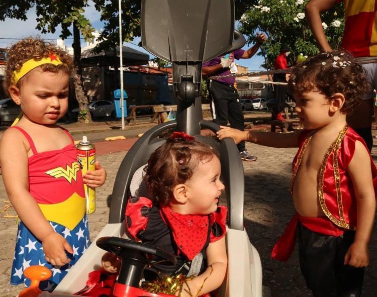 O bloco 'Fugi do berço, mamãe!' é uma das programações para o carnaval da criançada. - Foto: Reprodução | Instagram
