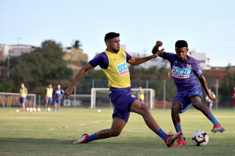 Eric Ramires fará o 1º jogo em 2019 pelo Bahia, agora vestindo a camisa 10 - Foto: Felipe Oliveira l EC Bahia