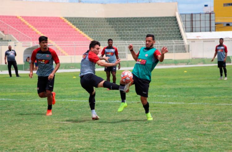 Leão joga contra o Juazeirense no domingo pelo Campeonato Baiano - Foto: Moysés Suzart | Divulgação | EC Vitória