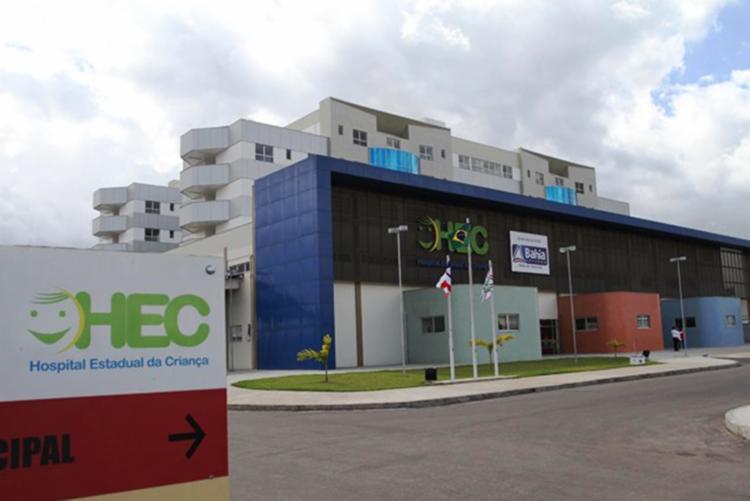 Criança foi socorrida para o Hospital Estadual da Criança, mas não resistiu - Foto: Reprodução | Site Acorda Cidade