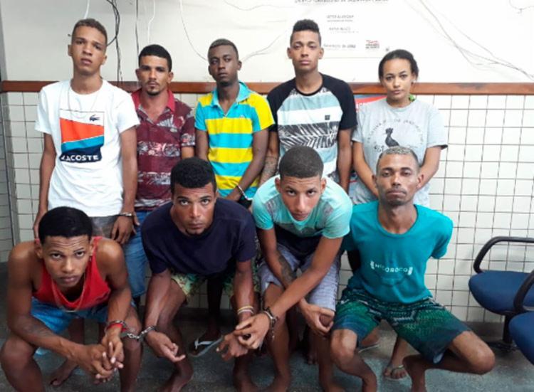 Grupo foi encontrado no Condomínio Vilas do Jacuípe, em Camaçari - Foto: Divulgação SSP