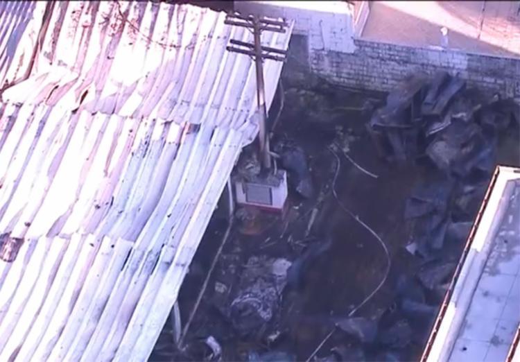 Até o momento, incêndio deixa dez mortos e três feridos - Foto: Reprodução | TV Globo