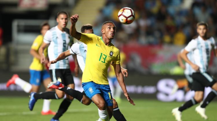 Triunfo sobre a Argentina impediu o título dos rivais e favoreceu o Equador, que ficou com o troféu - Foto: Divulgação   CBF
