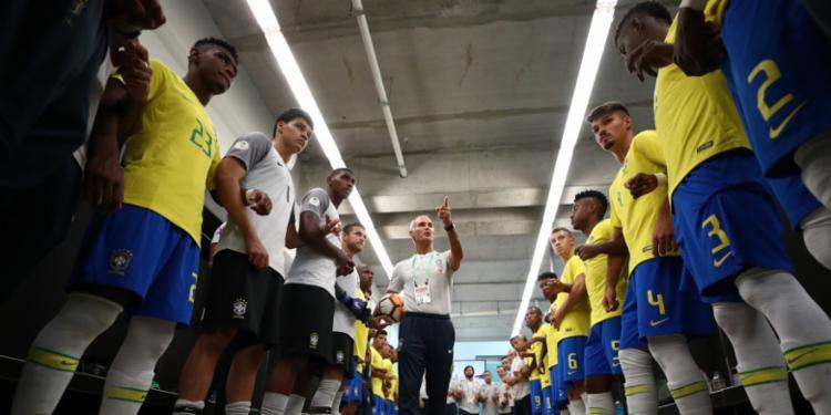 Nenhum auxiliar viajou ao país para acompanhar jogos da equipe desde que o torneio começou - Foto: Lucas Figueiredo   CBF