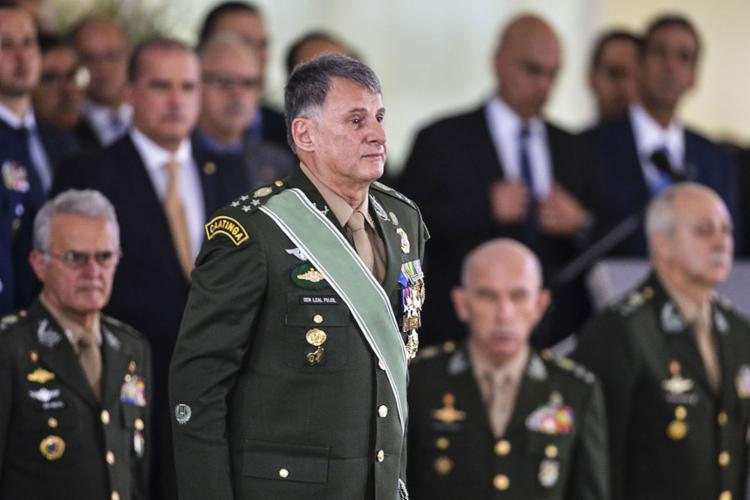 O general reafirmou a posição do Brasil e do Grupo de Lima pela não intervenção militar no país vizinho - Foto: Valter Campanato l Agência Brasil