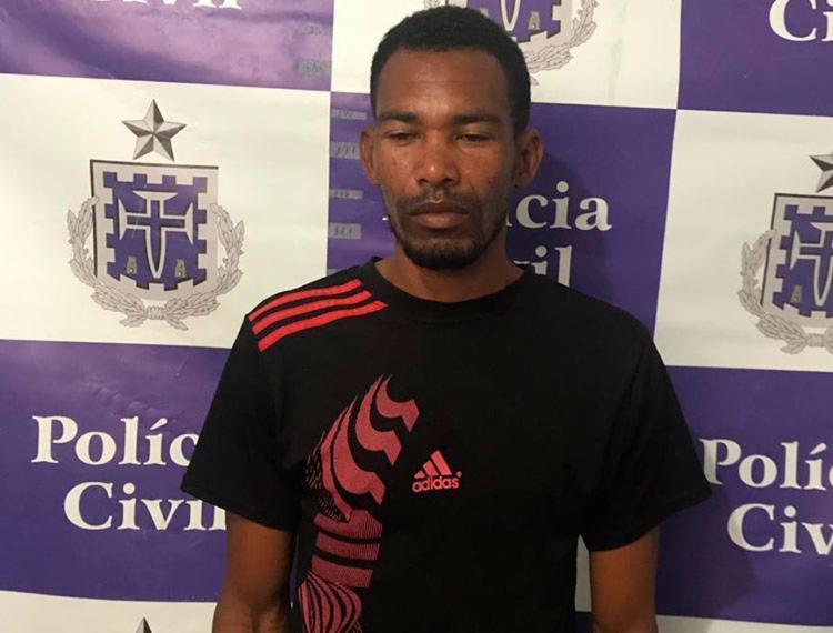 Suspeito permanecerá custodiado à disposição da justiça - Foto: Divulgação | Polícia Civil