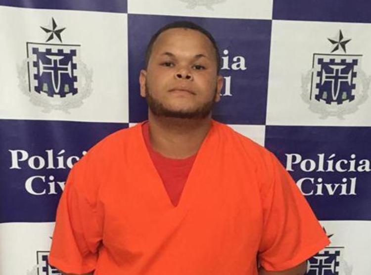 Marcos Santos Brito estava com um mandado de prisão em aberto por ter resistido a uma abordagem e trocado tiros com policiais - Foto: Divulgação | Polícia Civil