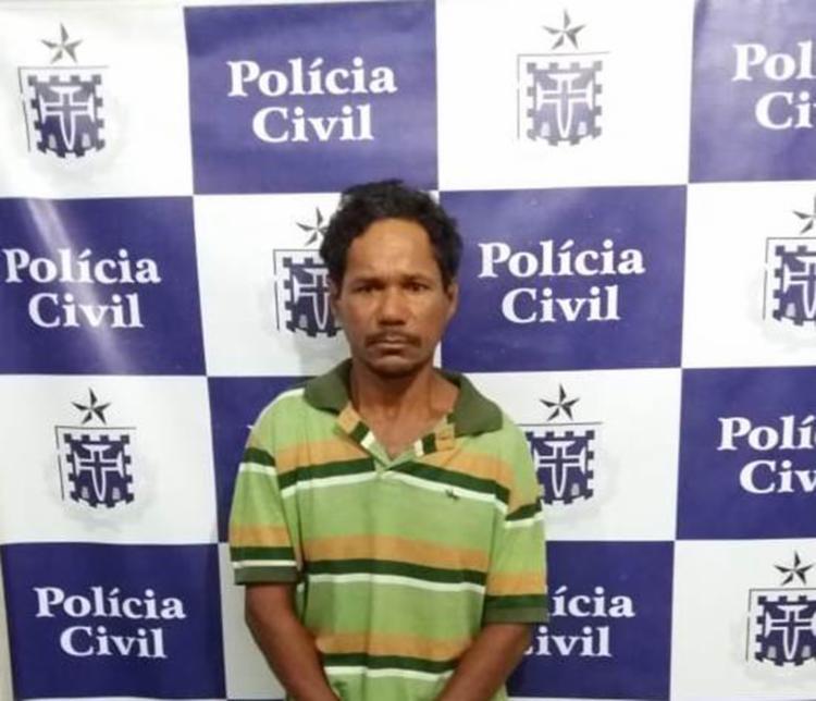 Na abordagem o homem informou um nome falso aos policiais - Foto: Foto: Divulgação SSP-BA