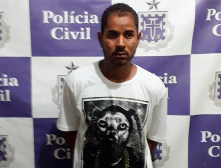 Damião é suspeito de ser dono das drogas encontradas com adolescente - Foto: Divulgação | Polícia Civil