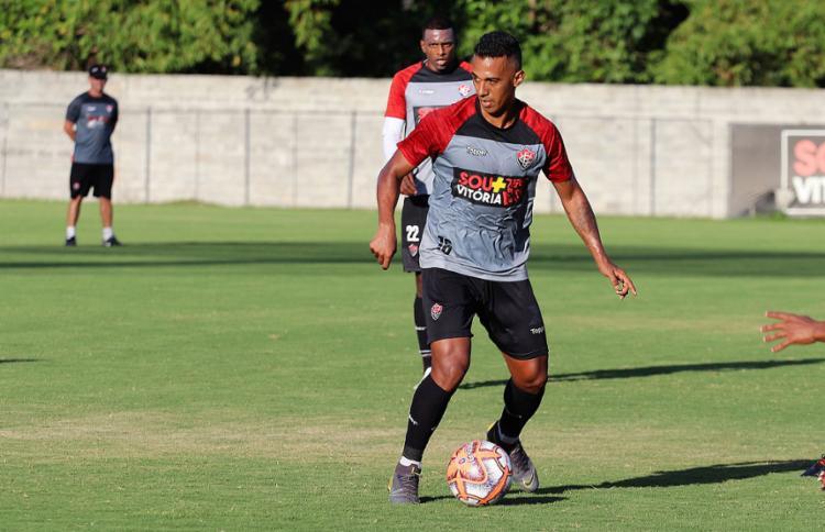 Sequência de lesões deixou Juninho dez meses sem disputar uma partida oficial - Foto: Maurícia da Matta l EC Vitória