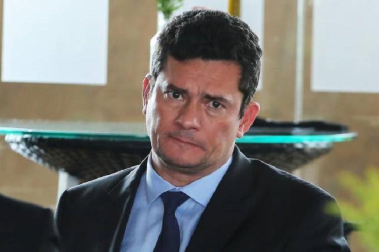 O ministro da Justiça e Segurana Pública, Sérgio Moro, limitou-se a comentar a condenação do ex-presidente. - Foto: Divulgação | Sergio Lima | AFP