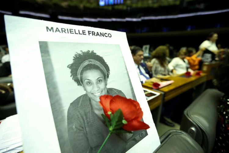 Marielle foi morta a tiros no centro do Rio de Janeiro após um evento político - Foto: Marcelo Camargo | Agência Brasil