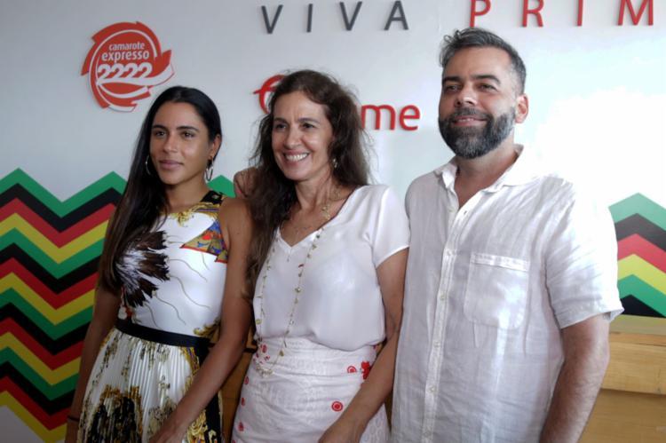 Marina Morena, Flora Gil e Pedro Tourinho assinam também a decoração - Foto: Uendel Galter l Ag. A TARDE