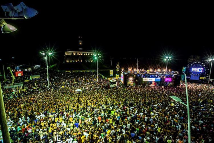 Bahia é primeiro no Nordeste no ranking da movimentação financeira durante a folia - Foto: Célia Santos | Divulgação