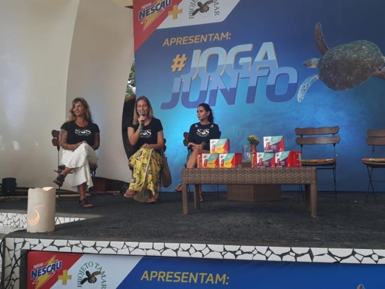 A novidade da empresa foi lançada no Projeto Tamar em Praia do Forte - Foto: Foto: Vitória Estrela