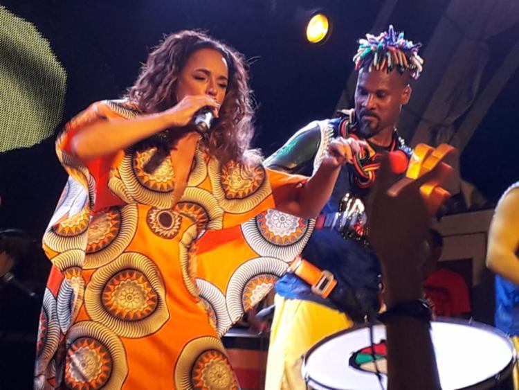 Daniela Mercury homenageou o grupo com a canção 'Pantera Negra'