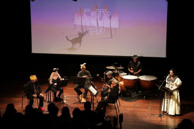 """A fábula """"Pedro e o Lobo"""" é uma história infantil contada através da música, - Foto: Divulgação"""