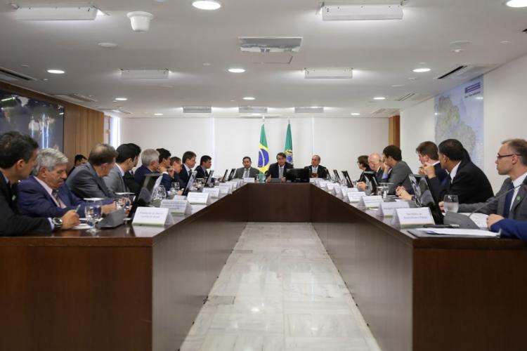 O ministro lembrou que a proposta foi uma promessa de campanha do presidente Jair Bolsonaro - Foto: Marcos Corrêa   PR